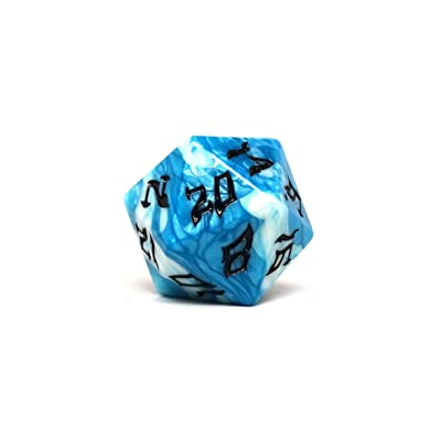 Dice of The Giants - Cloud Giant D20 - Huge 48mm Dice: Toys & Games