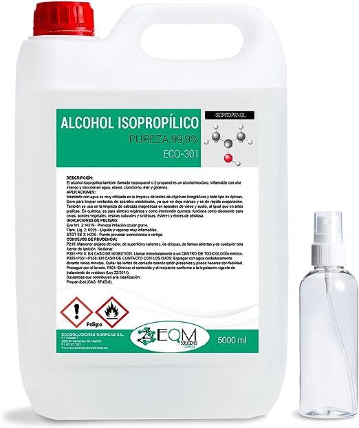 Alcohol Isopropílico 99,9% Puro