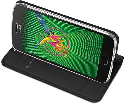 IVSO Funda Motorola Moto G5 Plus Slim Flip Cover Carcasa Cubierta ...