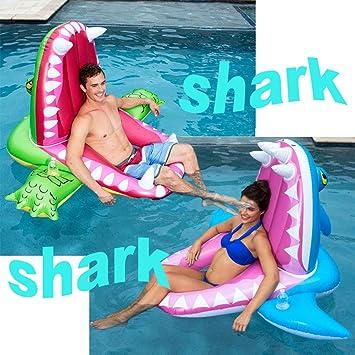 Ewbf Flotador de Tiburones Inflable Gigante: salón de ...