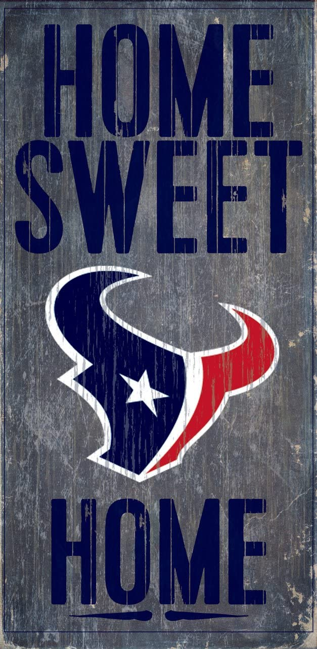 Fan Creations Houston Texans Home Sweet Home Wood Sign 12