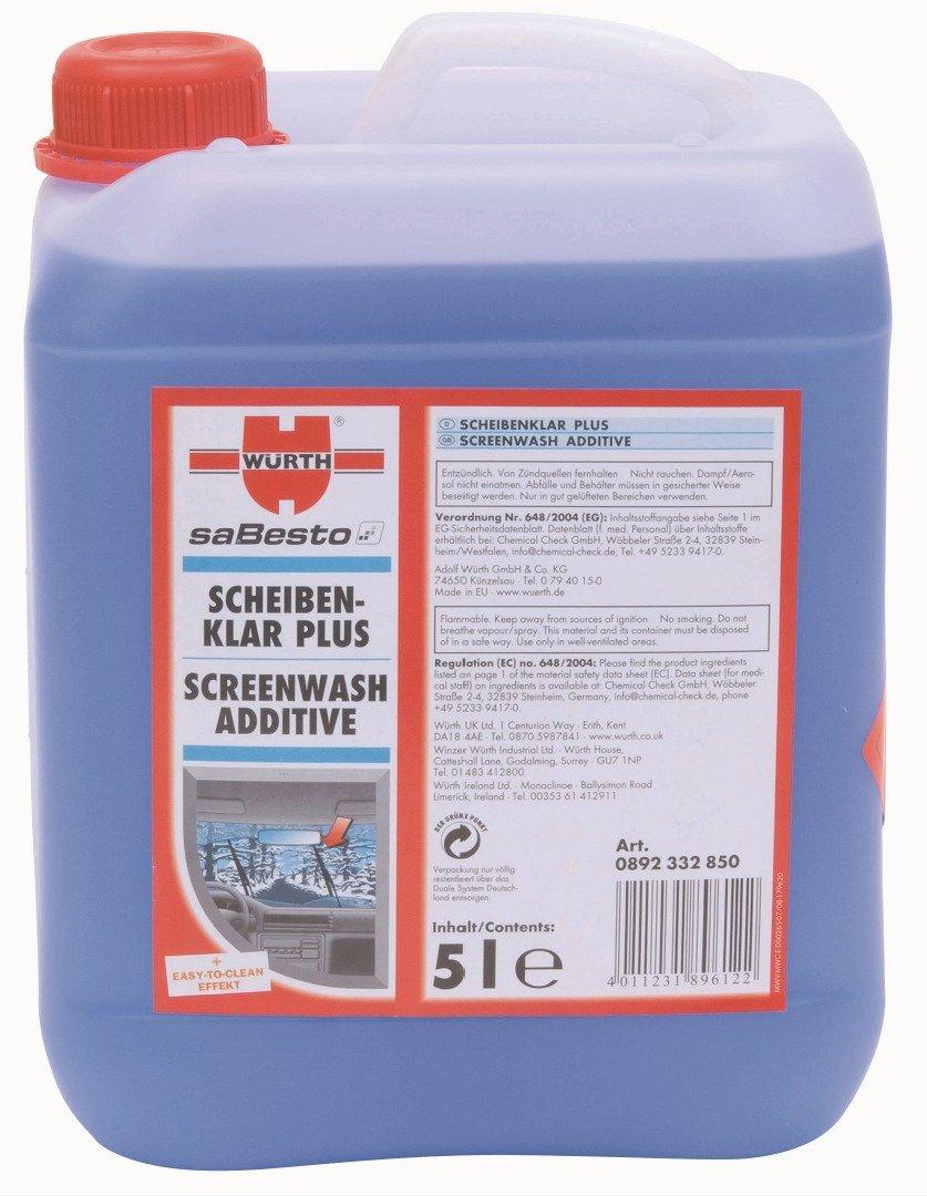 Wü rth Screenwash Plus Additive With Anti Freeze (1 Litre) Würth