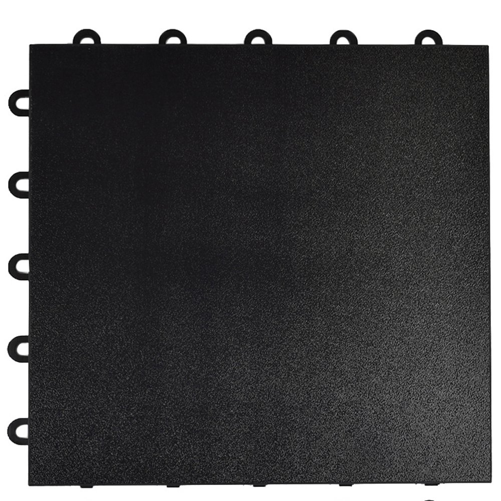 Greatmats Portable Dance Floor 1x1 Ft Tile 26 Pack Black
