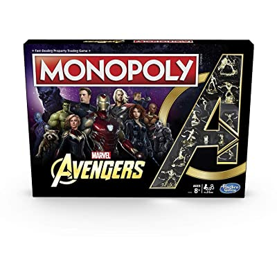 Hasbro Gaming Monopoly Avengers: Toys & Games