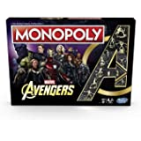 MARVEL AVENGERS - MONOPOLY - Collector's Edition - Inc Iron Man, Captain America, Hulk, Thor, Endgame, Infinity War…