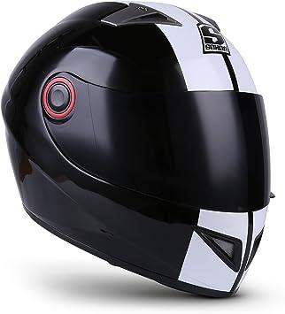 Soxon St 666 Deluxe Snow Integral Helm Full Face Motorrad Helm Roller Helm Scooter Helm Cruiser Sturz Helm Streetfighter Helm Sport Mtb Ece 22 05 Visier Schnellverschluss Tasche Xs 53 54cm Auto