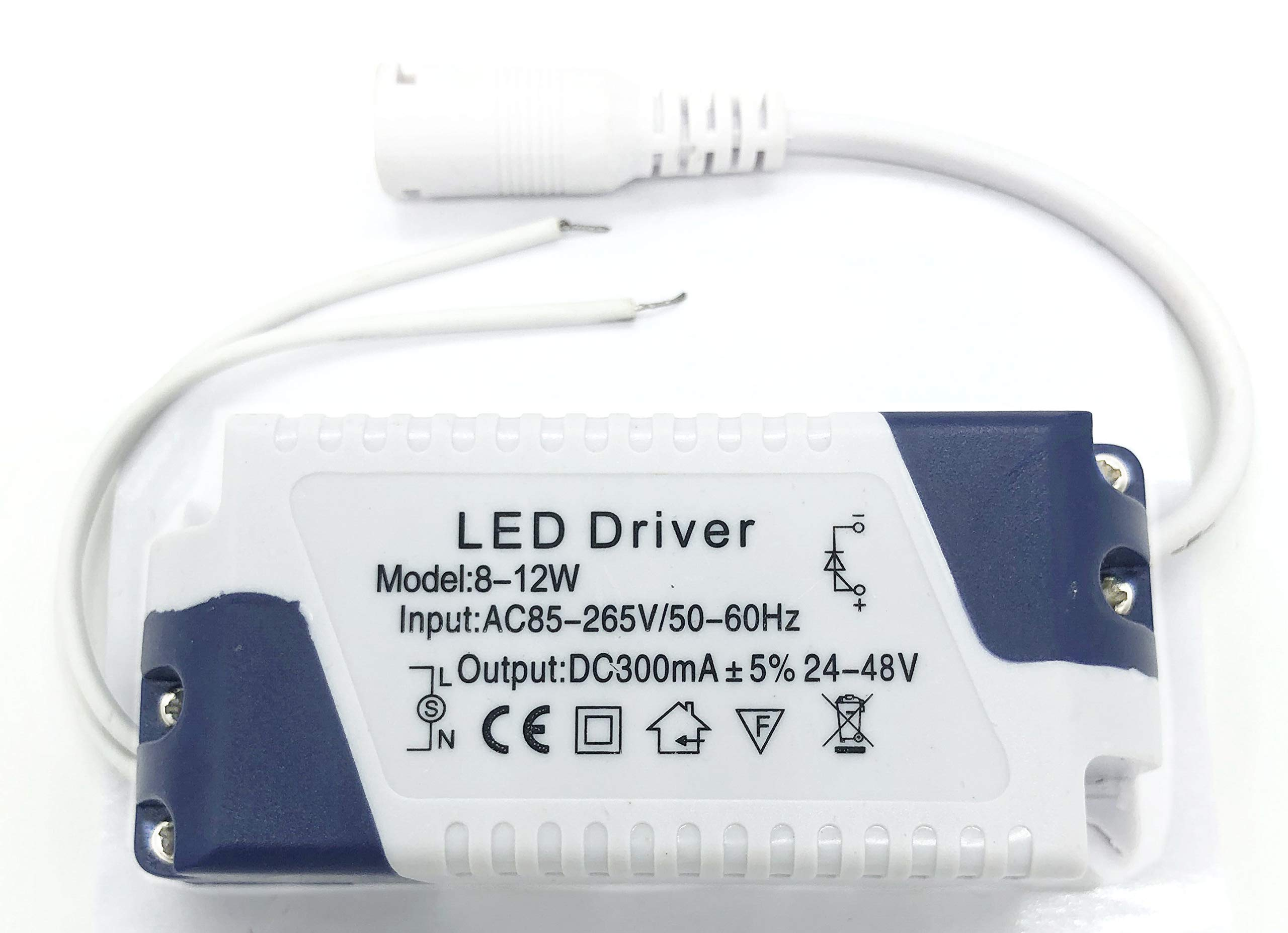 LED Driver 3-5W Constant Current 300mA DC Connector External Power Supply LED Ceiling Lamp Transformer High Power AC 85-265V 3-5W