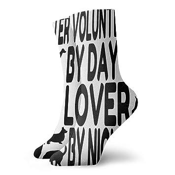 YIEOFH Gray Paw Prints Cat Dog Novelty Boys Girls Fashion Cute Funny Casual Art Crew Socks