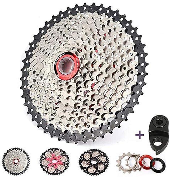 BOLANY KMC 6//7//8//9//10//11Speed MTB Bike Cassette Chain 40//42//46//50T Cassettes