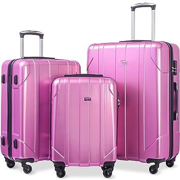 Amazon.com: Merax - Juego de maletas de 3 piezas de ...