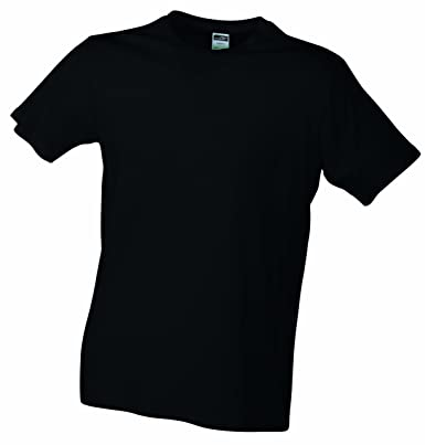 794f9f20d6f6a0 James   Nicholson Herren Langarmshirt T-Shirt Slim Fit 2er Pack schwarz ( black)
