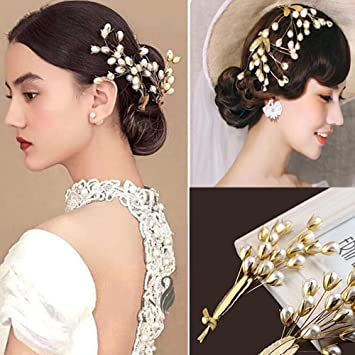 Gracewedding Brautschmuck Kristall Haarnadeln Damen Kopfbedeckung