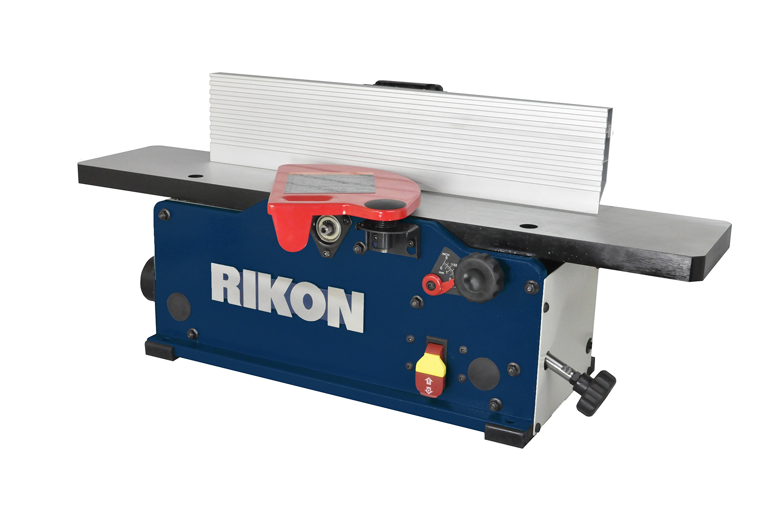 RIKON Power Tools 20-600H 6'' Benchtop Jointer with Helical Cutter head