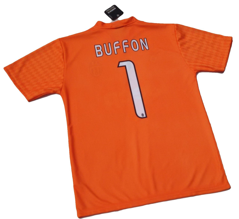 BUFFON DEL EQUIPO DE FÚTBOL JUVENTUS DE TURÍN-CAMISETA OFICIAL, TALLA DE NIÑO RÉPLICA 2016-17 12 AÑOS 10 8 GIGI 1 6 4, come da foto: Amazon.es: Deportes y ...