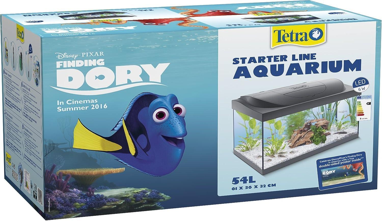 Tetra Buscando a Dory Acuario LED, 54L Kit para principiantes: Amazon.es: Productos para mascotas