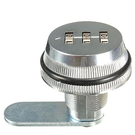 Cerradura de combinacion de codigo - SODIAL(R) Cerradura de combinacion de codigo de