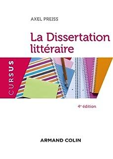 méthodologie de la dissertation littéraire guy poitry