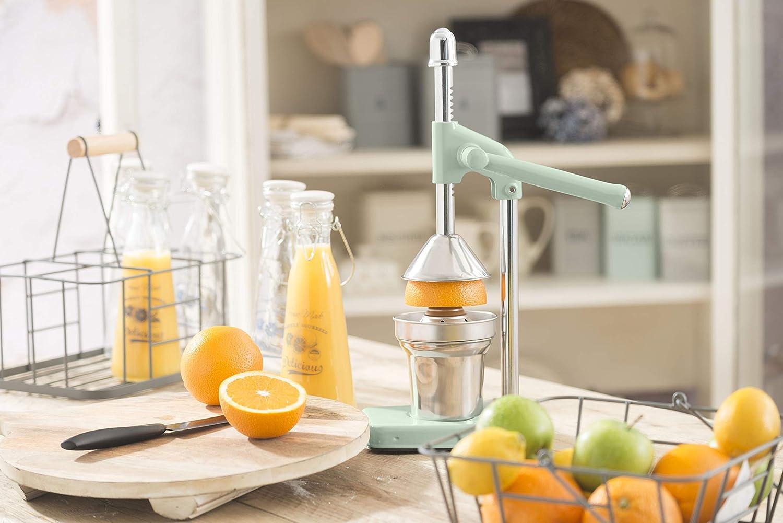 Compra Kitchencraft Living Nostalgia Heavy Duty Choice Manual Naranja exprimidor, Aluminio, Inglés Sage, 26 x 13 x 41, 5 cm en Amazon.es