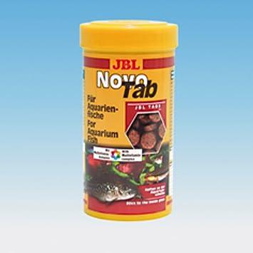 JBL Novotab Comida para acuariofilia 1 L: Amazon.es: Productos para mascotas