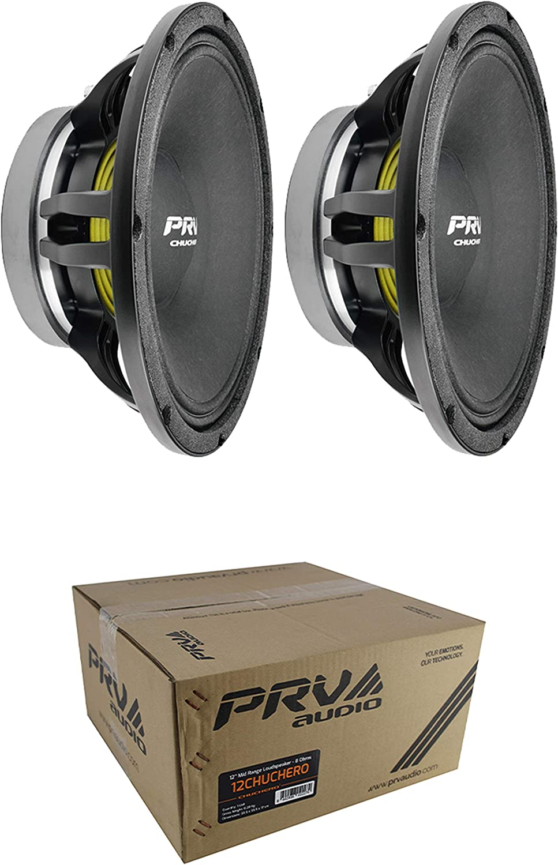 "2 x PRV 12CHUCHERO Series 12"" Midrange Pro 8 Ohm 1400W Loud Speaker Audio"