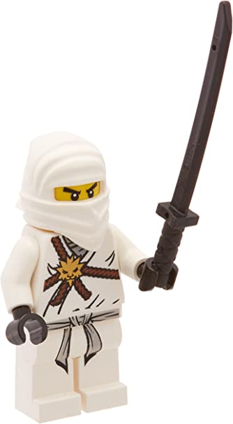 Amazon.com: LEGO Ninjago Zane, color blanco Ninja Minifigura ...