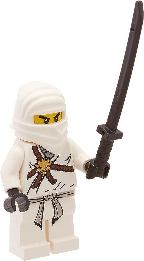 Amazon.com: LEGO Ninjago Zane, color blanco Ninja Minifigura ...