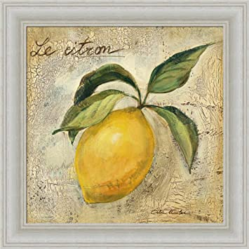 Amazon.com: Le Citron Lemon by Silvia Vassileva Contemporary Kitchen ...