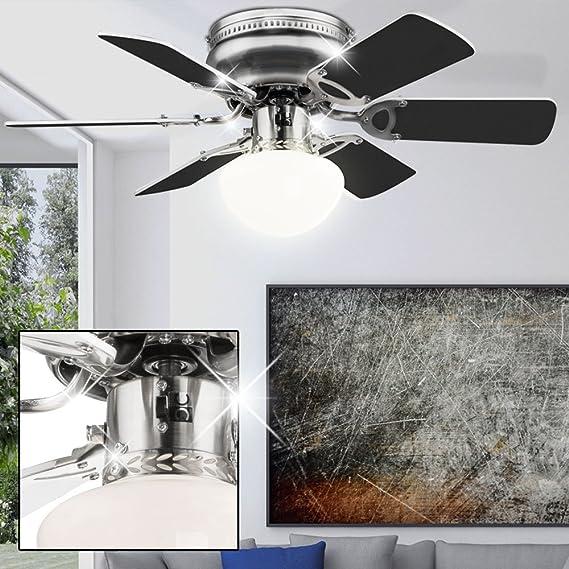 Lámpara de techo ventilador del radiador ventilador ajustado con ...