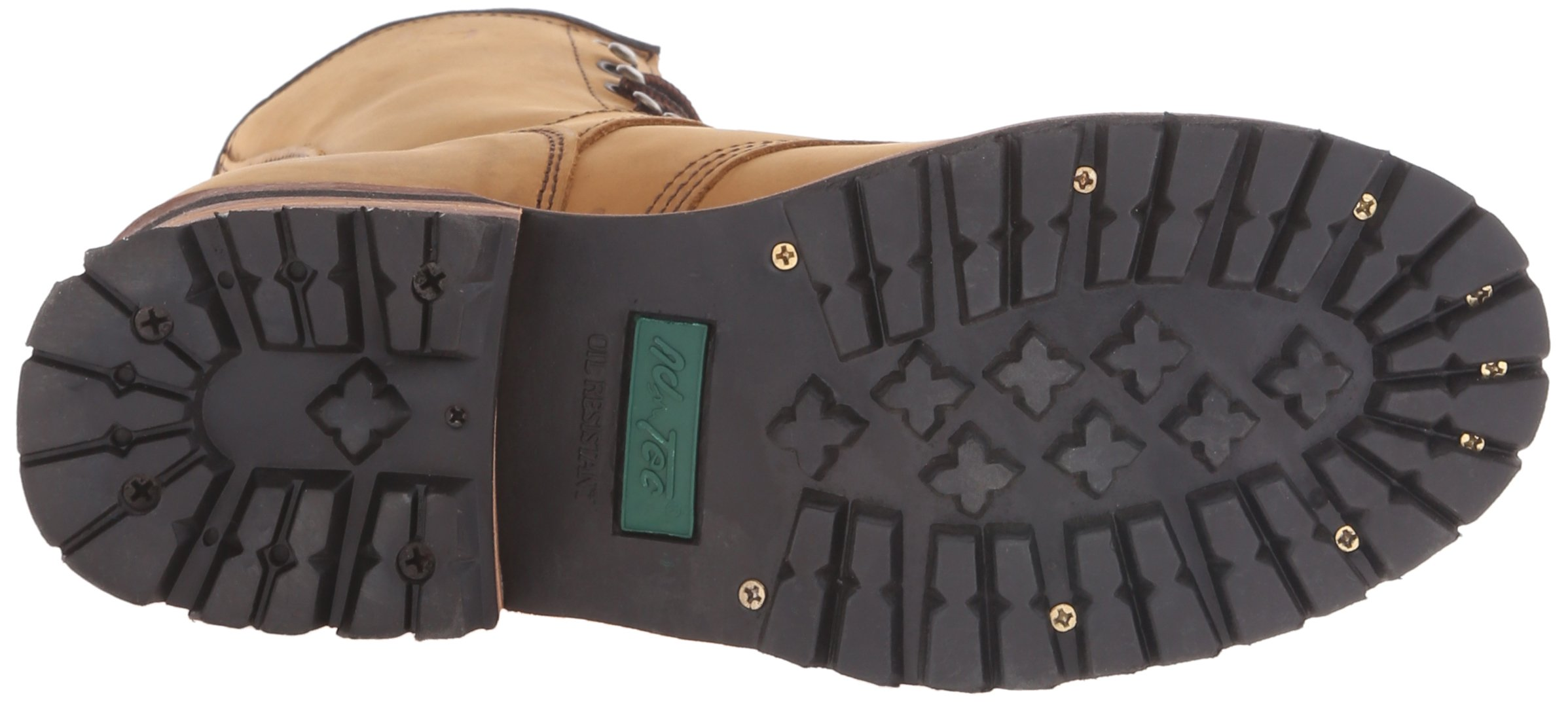 Adtec Men's 9 inch Logger Boot, Brown, 9 W US by Adtec (Image #3)