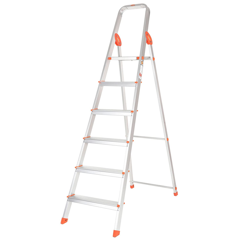 Bathla Advance 6-Step Foldable Aluminium Ladder