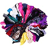 UWOCEKA Sexy Underwear, Kinds Women T-Back Thong G-String Underpants Sexy Lacy Panties