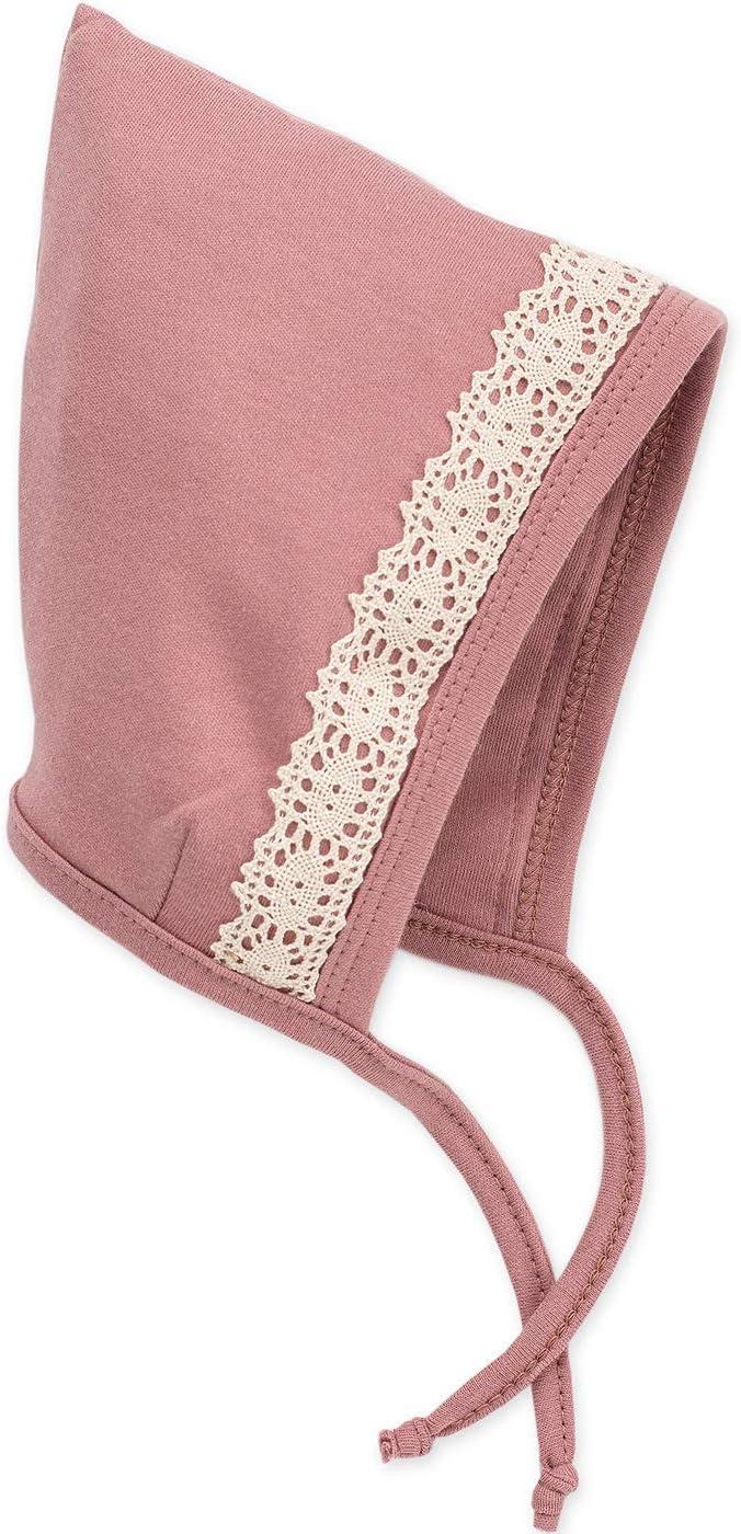 Viele Gro/ßen Baby Langarm Body Neugeborene Petit Lou Pinokio M/ädchen Rosa mit Beige Spitze aus 100/% Baumwolle Su/ß