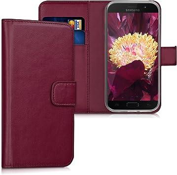 Kwmobile Samsung Galaxy A5 (2017) Hülle Kunstleder Wallet Case für Samsung Galaxy A5 (2017) mit Kartenfächern und Stand Étui pour téléphone Portable