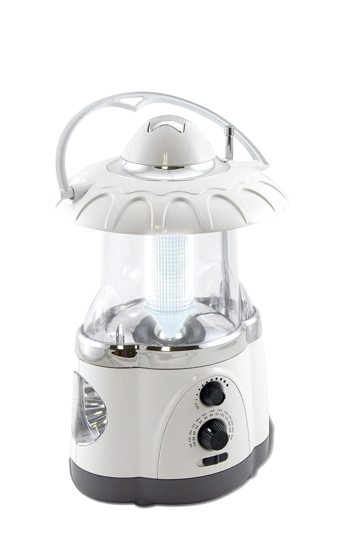 Northpoint 12-LED Lantern with 4-LED Flashlight and AM FM Radio