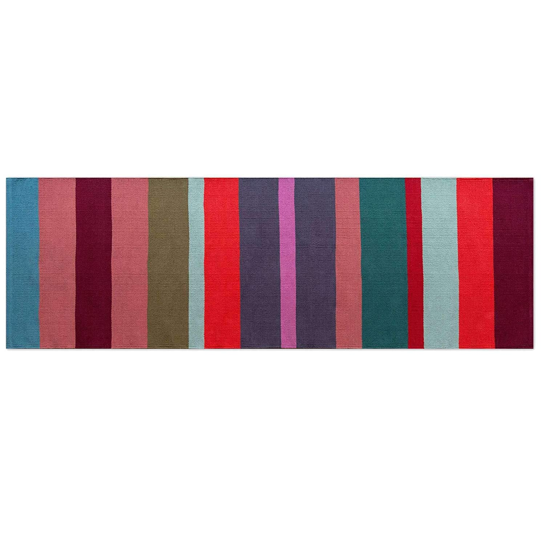 Remember Teppichläufer Malve lang 250 cm 100% Baumwolle