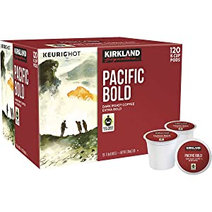 Kirkland Signature K-Cups, (Pacific Bold, 120Count)