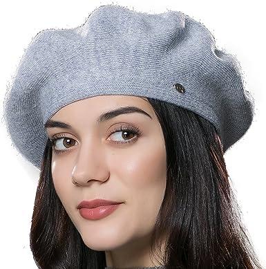 URSFUR Unisex gorra de algodón forma de boina personalizada de ...