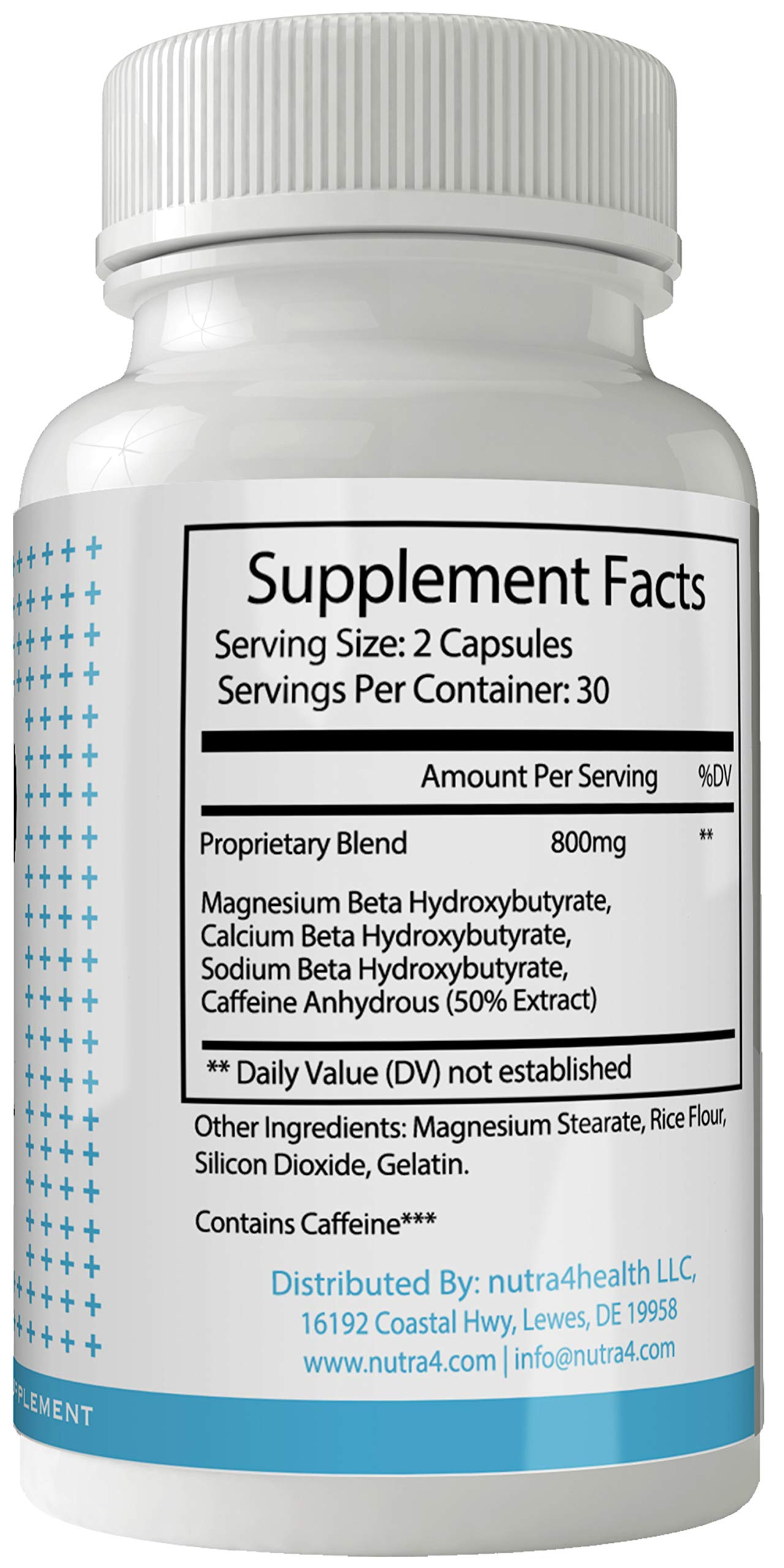 Keto Fuel Weight Loss Pills Advance Weight Loss Supplement Appetite Suppressant Natural Ketogenic 800 mg Formula with BHB Salts Ketone Diet Capsules to Boost Metabolism, Energy and Focus by nutra4health LLC (Image #2)