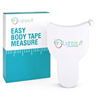 Measuring Tape for Body - 60 Inches (154cm), One-Hand Operation, Compact and Ergonomic...