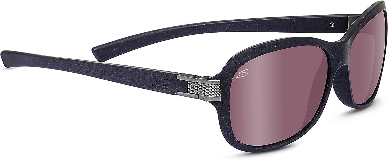 SERENGETI Isola Gafas De Sol, Color Sanded Black Glitter, tamaño ...
