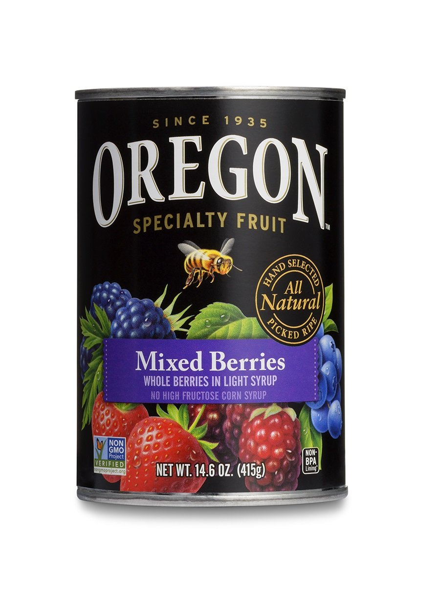 Oregon Fruit Mixed Berries - 15 Ounce (Pack of 8)
