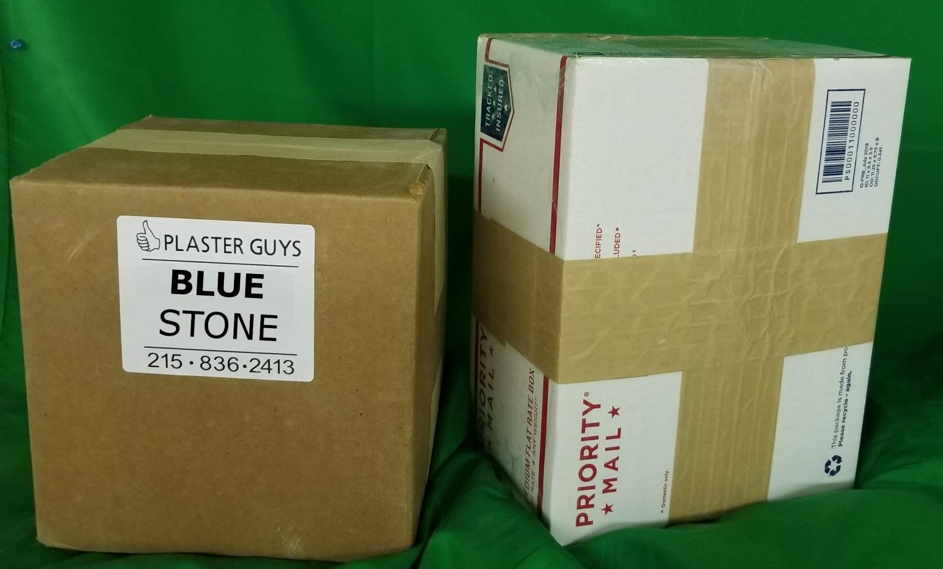 50 pounds - Dental Blue Lab Stone, Type III Gypsum with Free and Fast Shipping!