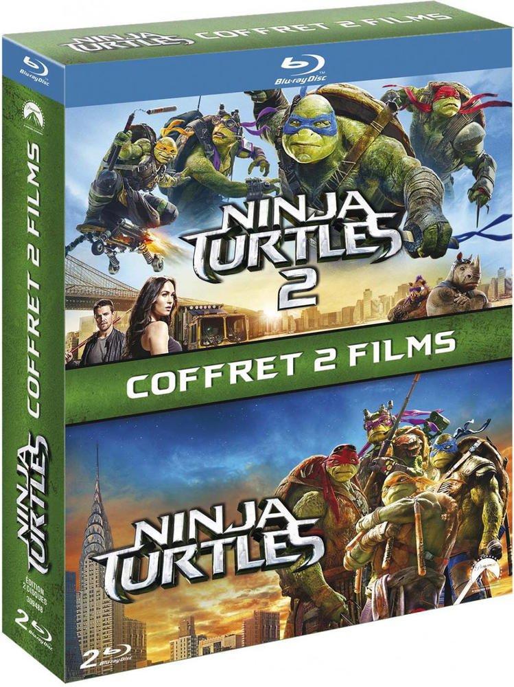 Ninja Turtles + Ninja Turtles 2 [Francia] [Blu-ray]: Amazon ...