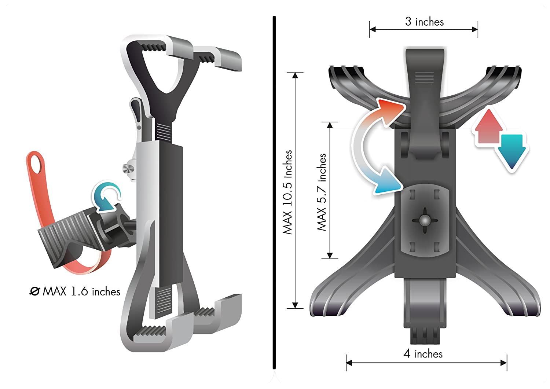 Bicicleta eliptica giro 360