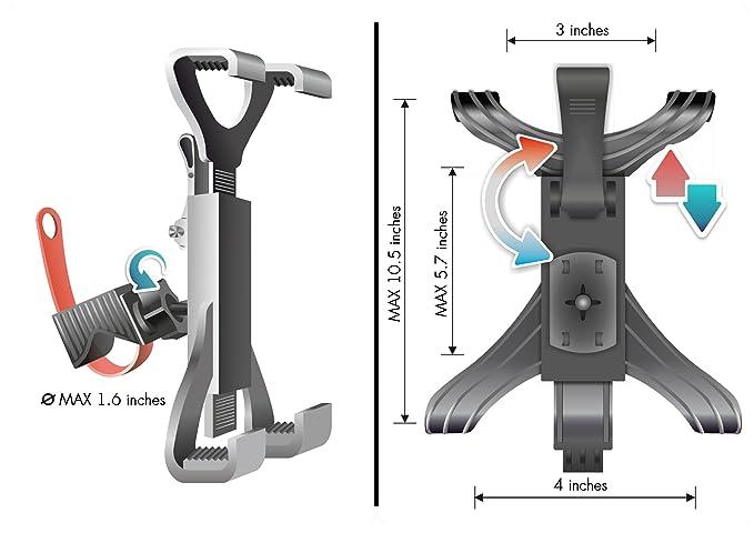 Lavolta - Atril de Soporte de iPad para Cinta de Correr Spinning ...