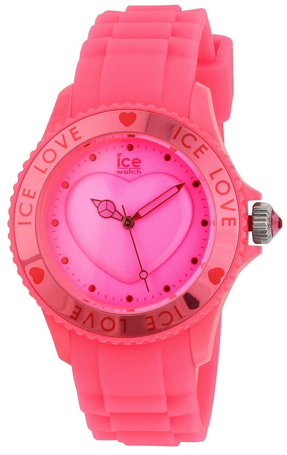 Ice Watch Love LO.PK.U.S.10 Heart Pink Plastic Dial