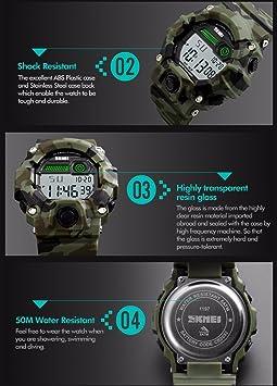 Amazon.com: Gosasa Big Dial Digital Watch S Shock Men ...