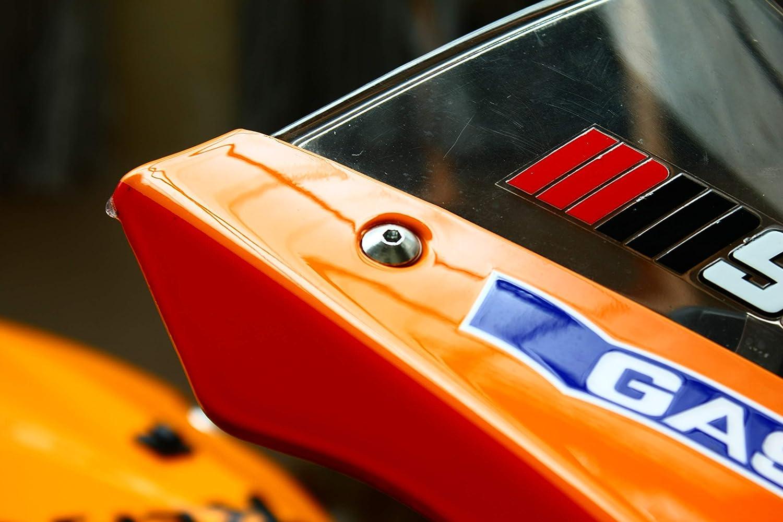Z10 Ducati 749 848 996 998 999 1098 Red WindScreen Bolts Screws Wellnuts