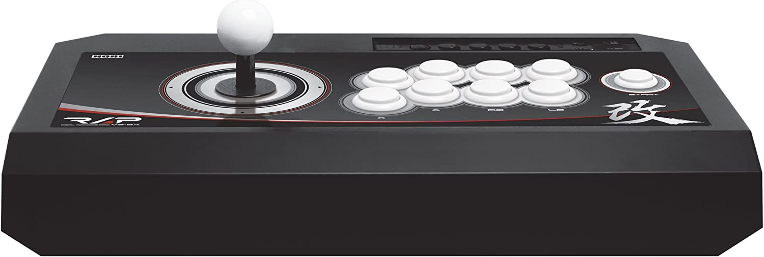 Hori Real Arcade Pro. V3 SA Kai, PS3 - Volante/mando (PS3, Especial, Playstation 3, Select, Start, Turbo, Alámbrico, USB 2.0, 3m) Negro: Amazon.es: Videojuegos