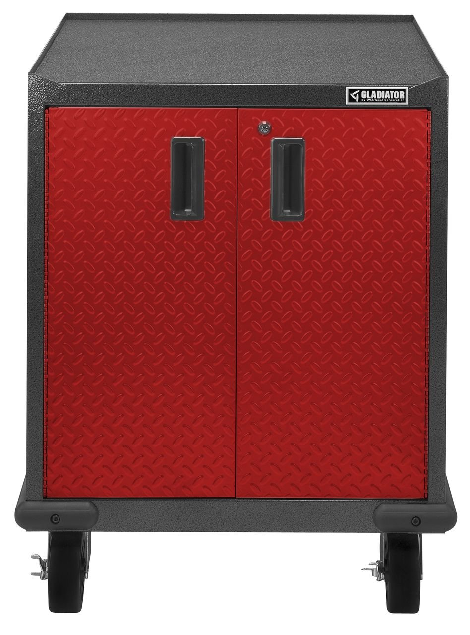 Amazon.com: Gladiator GAGB272DDR Premier Modular Steel Cabinet, Red Tread:  Home Improvement